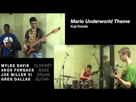 Playing with my Berklee friends some fun super mario theme
