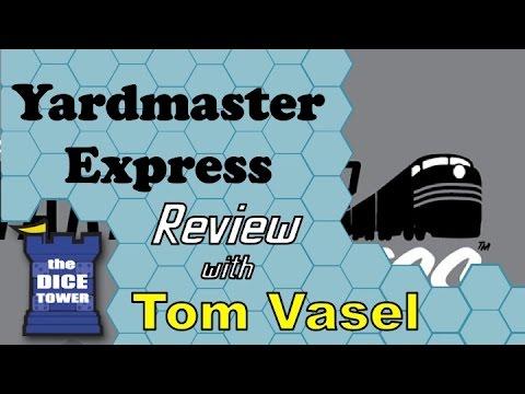 Dice Tower Reviews: Yardmaster Express