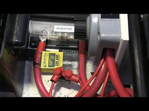 Tips - DC Boat Wiring for an Inverter/Charger Installation
