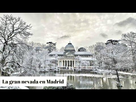 La Gran Nevada Que Ha Cubierto Madrid  – El Retiro Nevado