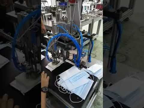 ROTATING EAR LOOP WELDING MACHINE
