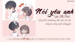 [Vietsub + Kara] ( Bản mở rộng ) Nói yêu anh Tiktok - Lưu Chí Giai ( 說愛你 - 劉至佳 )