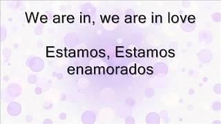 Cider Sky - We are in love - Letra Español/Ingles