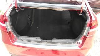 Ворс в багажнике, ковер и накладка в проем на Лада Веста