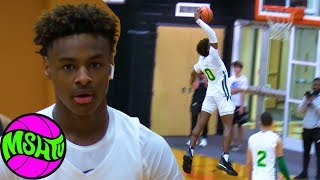 1aefc775ebd Bronny Dunks With Ease - Blue Chips Highlights Rayvon Griffith