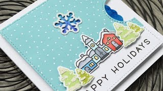 Intro To Reveal Wheel Snowflake Add On + A Card From Start To Finish
