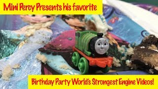 Thomas & Friends Favorite Birthday Party World's Strongest Engine With Percy
