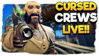 Sea of Thieves - 🔴We're Live - Cursed Crews are LIVE!! - PvP PATCH, FULL DAY STREAM!