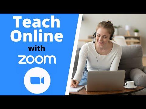 Teach Online with Zoom - Beginners Tutorial