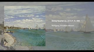 String Quartet no. 23 in F, K. 590
