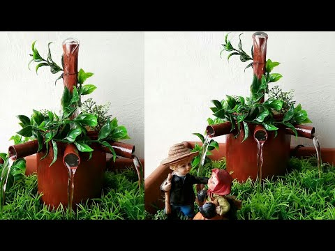 How to make fairy water fountain very easy