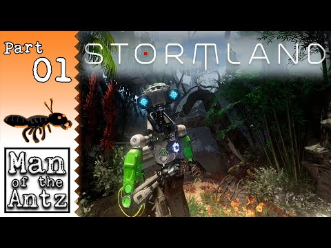 Epic and Beautiful! | Stormland VR on Valve Index [ReVive] - Part 1