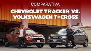 Chevrolet Tracker vs. Volkswagen T-Cross: ¿Cuál conviene más?
