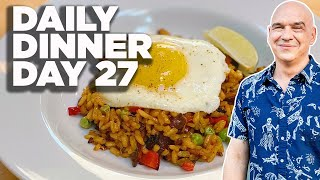 Cook Along With Michael Symon   Vegetable Paella On The Grill   Daily Dinner Day 27