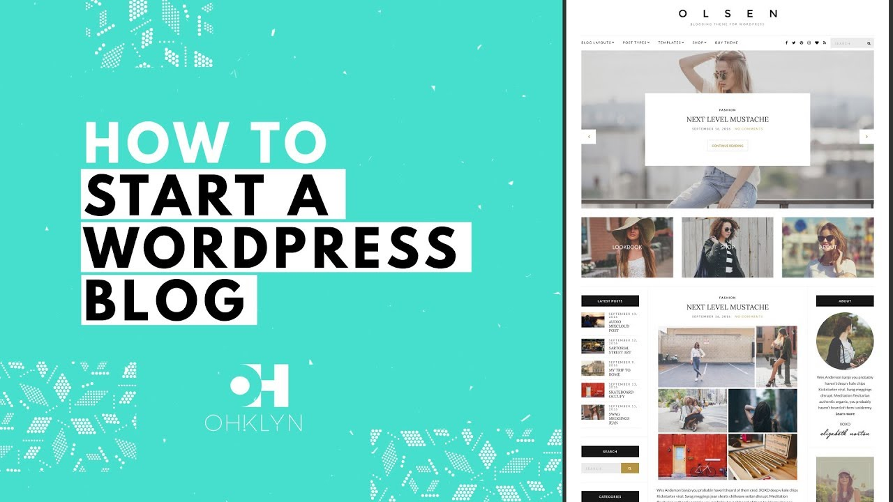 How to Start a WordPress Blog   Blog Tutorial for Beginners