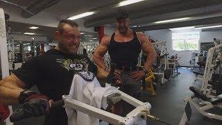 Petr Března & Paul Poloczek IFBB PRO - trénink zad
