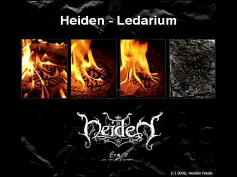 01 - Heiden - Ledarium online metal music video by HEIDEN
