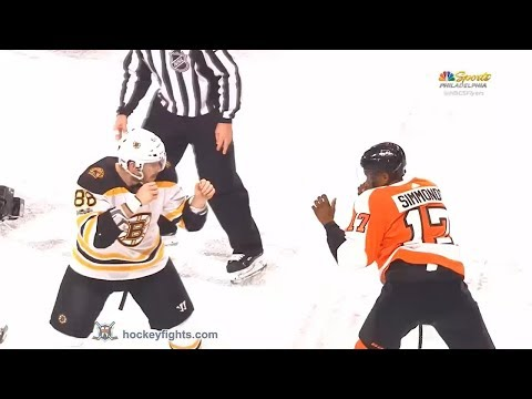 Wayne Simmonds vs. Kevan Miller