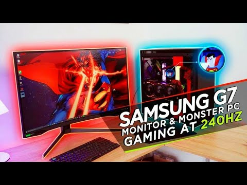 External Review Video Jlb4ePF22Hg for Samsung Odyssey G7 27-in Curved Gaming Monitor (C27G75T)