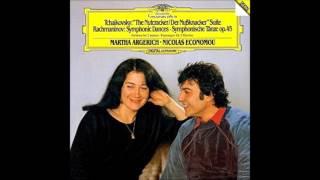 チャイコフスキー-バレエ組曲《くるみ割り人形》Op.71a~2台のピアノのための~アルゲリッチエコノム