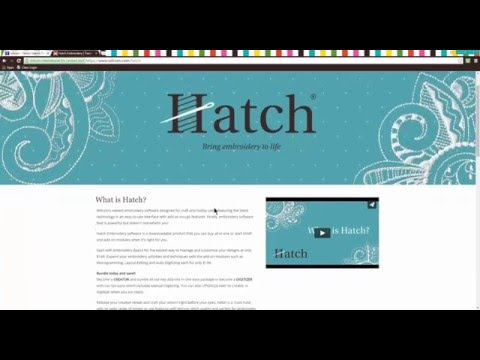 Hatch Embroidery 2 Crack