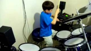K'naan ABC's ft Chubb Rock, Eight yr old drum cover