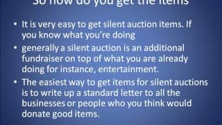 How To Run An Awesome Silent Auction Fundraiser