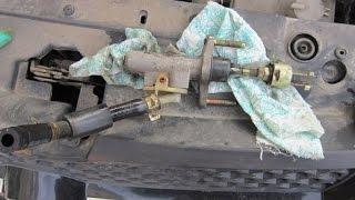 Geely MK замена главного цилиндра сцепления