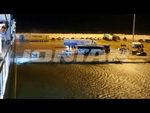 ΕΠΕΙΓΟΝ: Κυλλήνη: Αυτοκίνητο βρέθηκε στη θάλασσα από το Fior Di Levante [video]