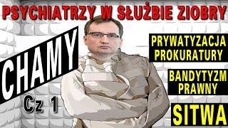 Psychiatrzy w służbie Zbigniewa Ziobry – CHAMY, część 1 – Fundacja Paragraf