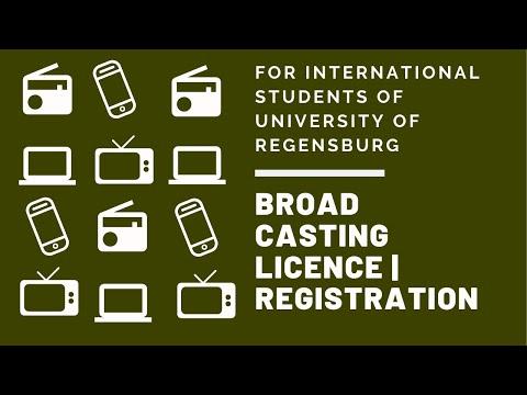 Broadcasting Licence   Registration