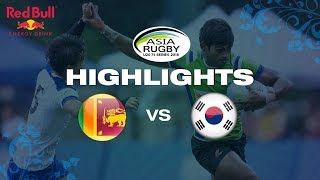 Highlights – Sri Lanka Vs South Korea   Asia U20 Sevens