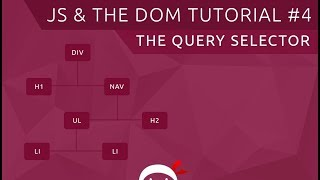 JavaScript DOM Tutorial #4 - The Query Selector