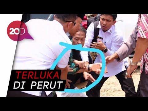 Detik-detik Menkopolhukam Wiranto Diserang Seorang Pria