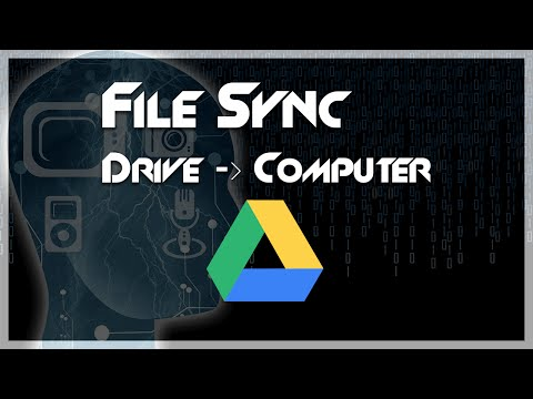 TUTORIAL: How To Sync Folders With Google Drive Backup & Sync Mp3