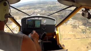 preview picture of video 'A22 Foxbat Glider Towing in Australia'