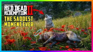 This Is The SADDEST Moment You Have Likely NEVER Seen Before In Red Dead Redemption 2! (RDR2)