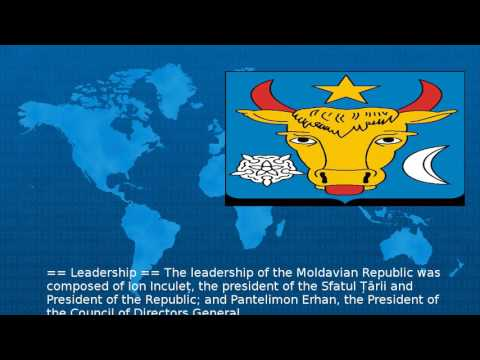 Moldavian Democratic Republic  - Wiki Mp3