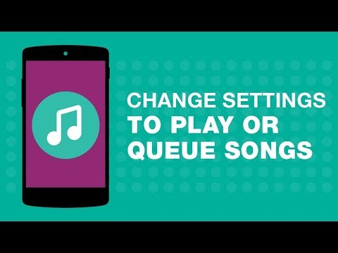 How to Change Tap Settings to Play or Queue Songs in JioMusic?