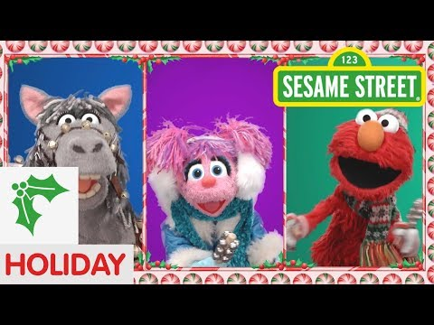 Sesame Street: Elmo and Friends Sing Jingle Bells | Christmas Songs