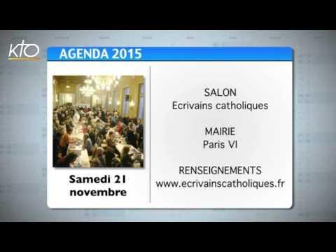 Agenda du 6 novembre 2015