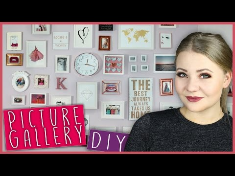 DIY PICTURE GALLERY WALL - Meine Wohnung! (Do It Yourself)