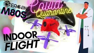 Eachine M80S Best micro drone for indoor flight, esp. during COVID-19 quarantine