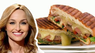 Giada De Laurentiis Makes A Rib Eye Steak Panini | Food Network