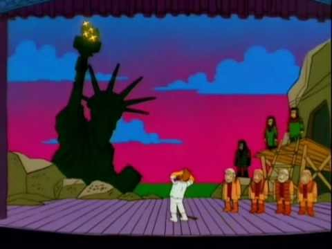 The Simpsons - Stop The Planet of the Apes, I Want To Get Off! Starring Troy McClure