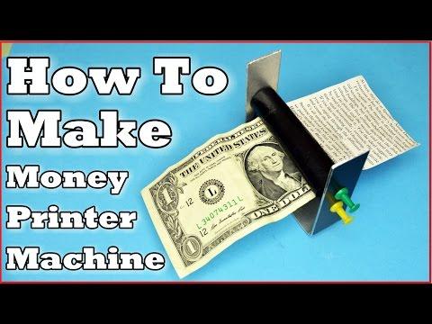 How To Make: Money Printer Machine!