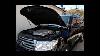 Установка автомобильного аккумулятора на Toyota Land Cruiser 200 - 4.7 бензин