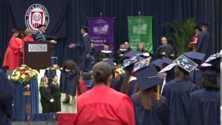 Utica College Undergraduate Commencement 2014 - Business and Justice Studies