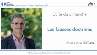LES FAUSSES DOCTRINES