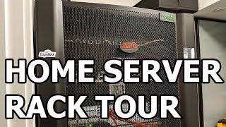 Home Server Rack and Network Tour 2018